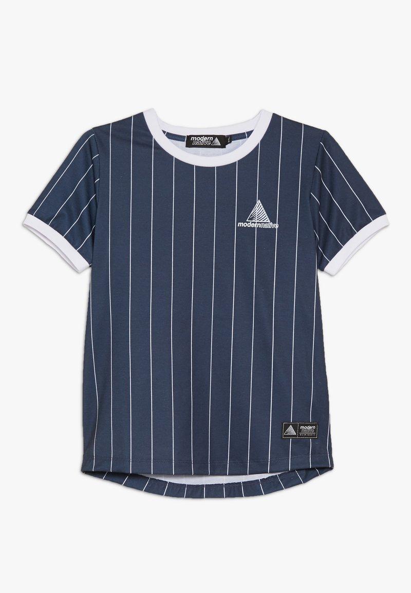 Modern Native - SUB TEE WITH SCREEN PRINT - Print T-shirt - blue