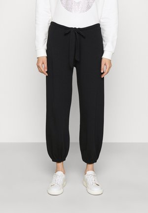 Teplákové kalhoty - black