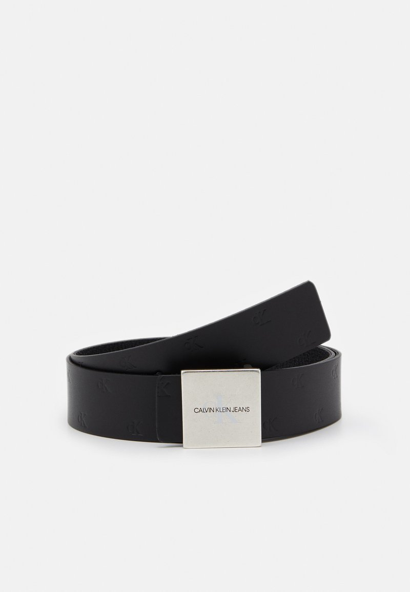 Calvin Klein Jeans - SQUARE PLAQUE UNISEX - Belt - black