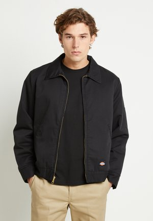 LINED EISENHOWER JACKET - Lehká bunda - black