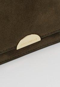 Coccinelle - HALF MINI BAG - Across body bag - reef - 6