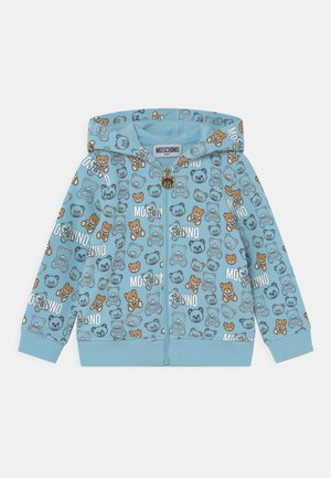 ADDITION - Sweater met rits - sky