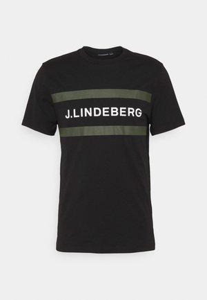 SILO LOGO - T-shirt med print - black