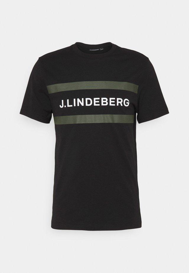SILO LOGO - T-shirt imprimé - black