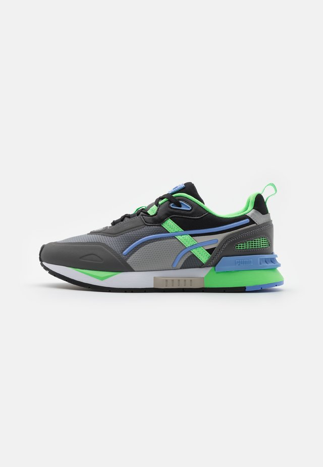 MIRAGE MOX TECH VEGAN UNISEX - Trainers - castlerock/elektro green