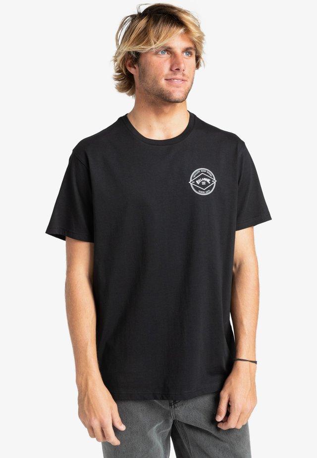 ROTOR ARCH  - Print T-shirt - black