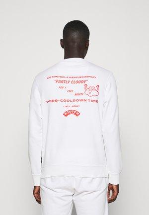 FELPA ARTWORK - Sweatshirt - white