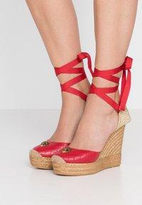 Kurt Geiger London - KARMEN - High heeled sandals - red - 0