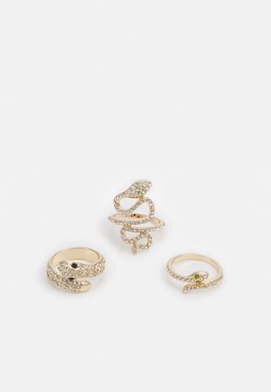 PCHAYLEEN 3 PACK - Anello - gold-coloured