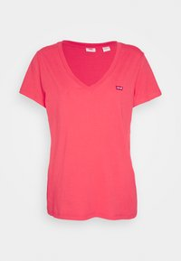 Levi's® - PERFECT V NECK - T-shirt basic - poppy red - 4