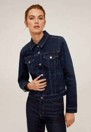 VICKY - Denim jacket - dunkelblau