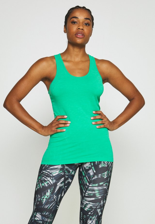 ATHLETE SEAMLESS WORKOUT - T-shirt sportiva - lime gello green