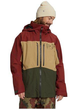 Hardshell jacket - sparrw/kelp/frstnt
