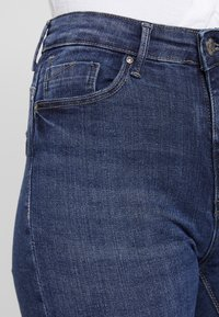 ONLY - ONLPAOLA HIGHWAIST - Jeans Skinny Fit - medium blue denim - 4