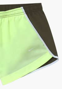 Nike Performance - DRY SPRINTER SHORT - Sports shorts - barely volt/cargo khaki/white/ - 3
