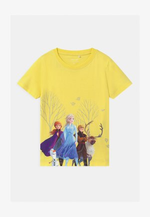 NMFFROZEN - T-shirt med print - limelight