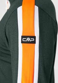 CMP - MAN - Sweatshirt - nero melange/orange fluo - 3