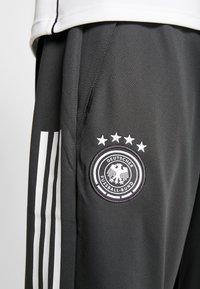 adidas Performance - DEUTSCHLAND DFB TRAINING PANT - Koszulka reprezentacji - carbon - 6