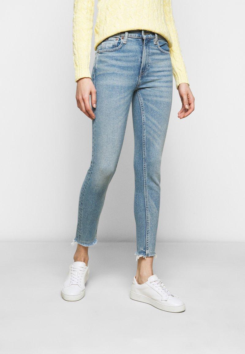 Polo Ralph Lauren - VIONA - Skinny džíny - light indigo