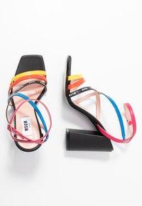 MSGM - DONNA WOMANS - High heeled sandals - multicolor/black - 3