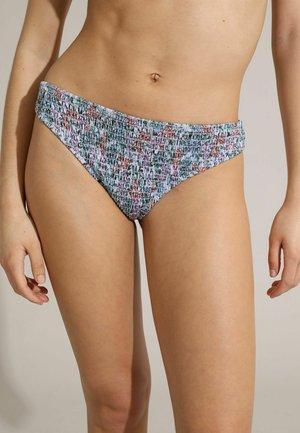 MIT BLUMEN PRINT - Bikini bottoms - violett