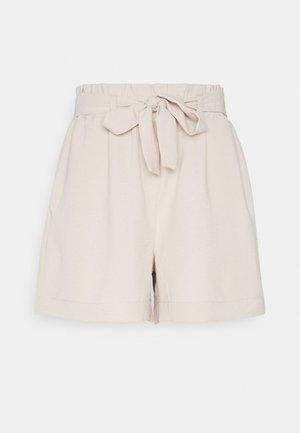 ONLLAVENDER PAPERBAG - Shorts - pumice stone