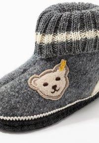 Steiff Shoes - Hjemmesko - grey - 2