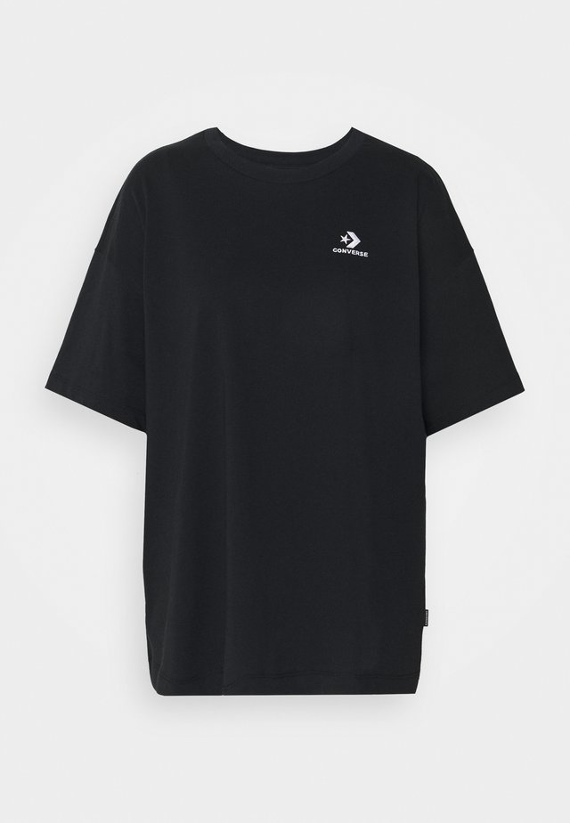 OVERSIZED LOGO - Basic T-shirt - black