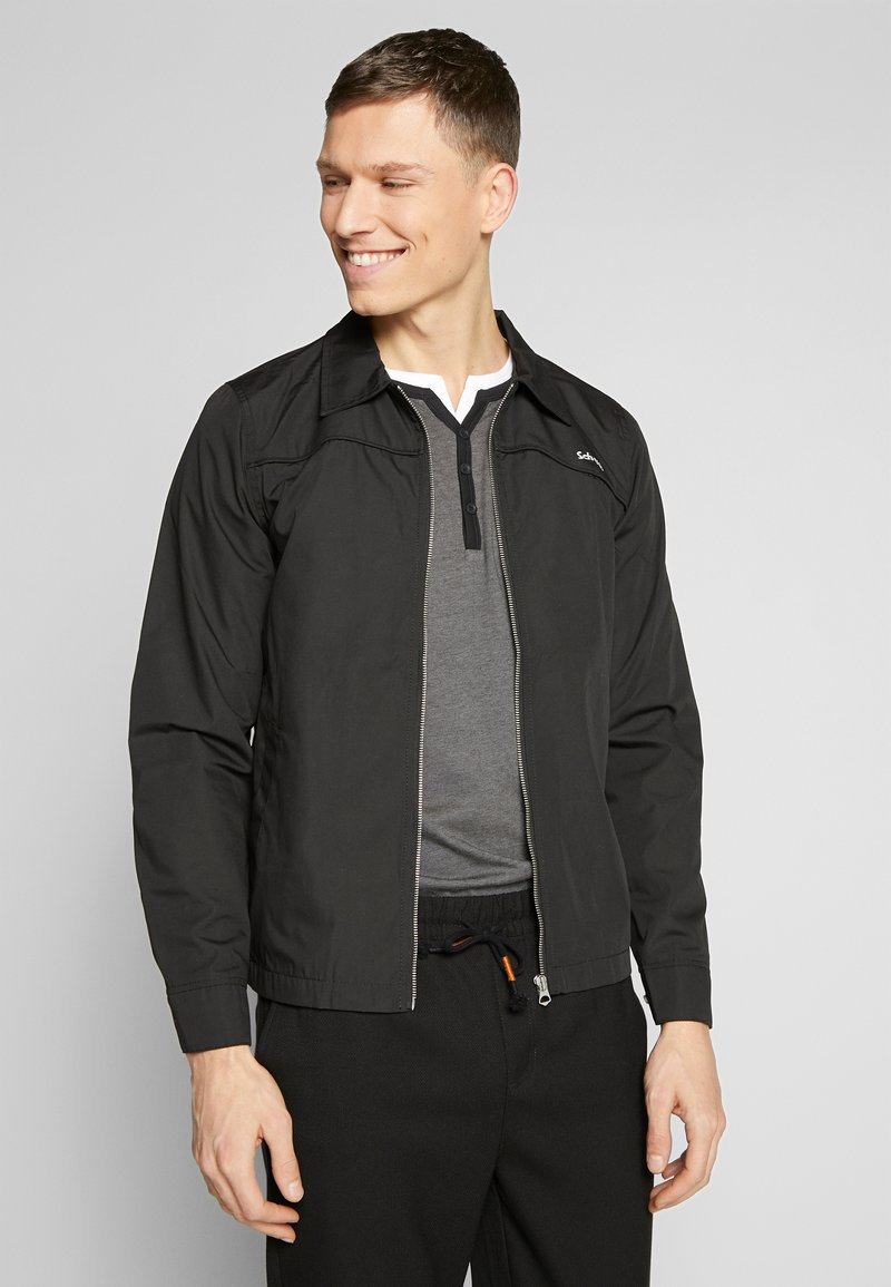 Schott - DRIFT - Summer jacket - black