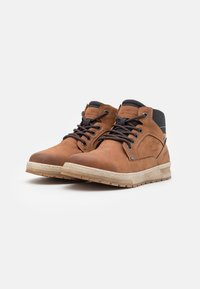 TOM TAILOR - High-top trainers - cognac - 1