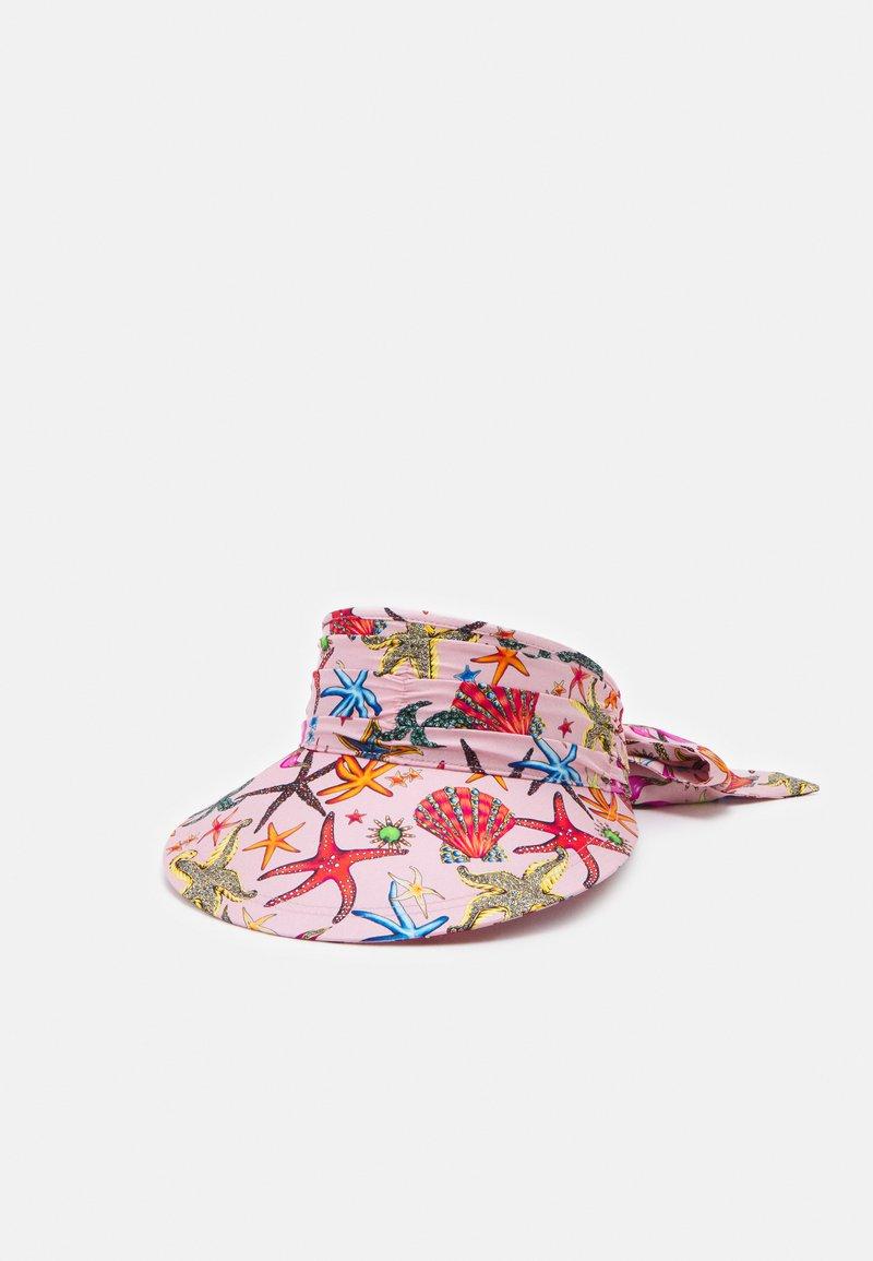 Versace - CAPPELLO BANDANA CON VISIERA - Klobouk - rosa/multicolor