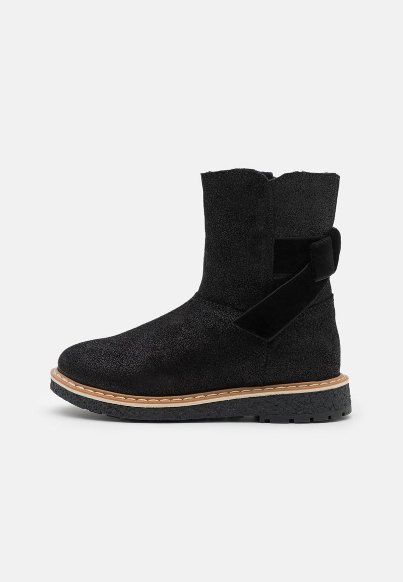 Friboo - LEATHER - Botas para la nieve - black