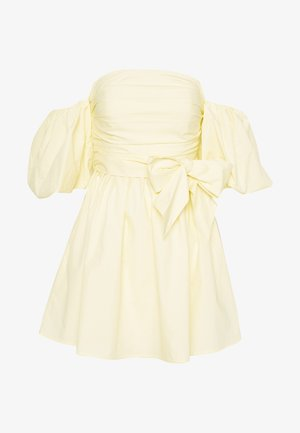 SWEET DARLING DRESS - Hverdagskjoler - yellow