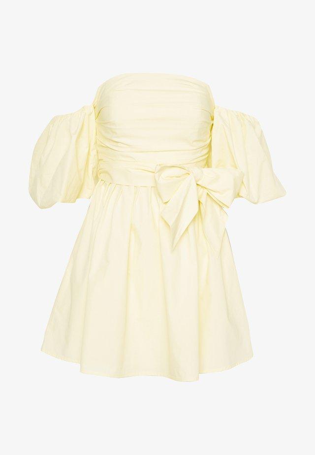 SWEET DARLING DRESS - Vestido informal - yellow