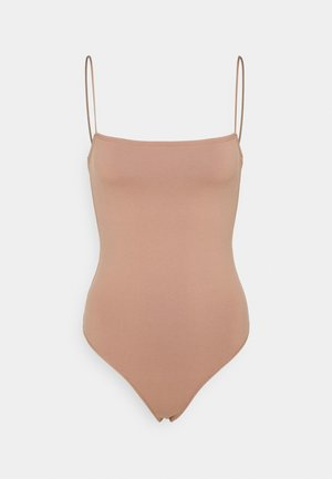 BARE SEAMLESS BODYUIT - Top - light brown