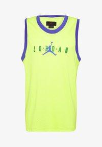 Jordan - TANK - Top - cyber/rush violet/aloe verde - 4