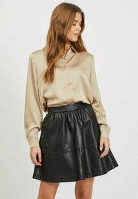 Vila - Button-down blouse - humus - 0