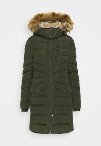 SIGNATURE PUFFER COAT - Winter coat - dark rosin green
