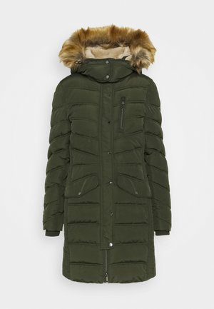 SIGNATURE PUFFER COAT - Winter coat - dark rosin green