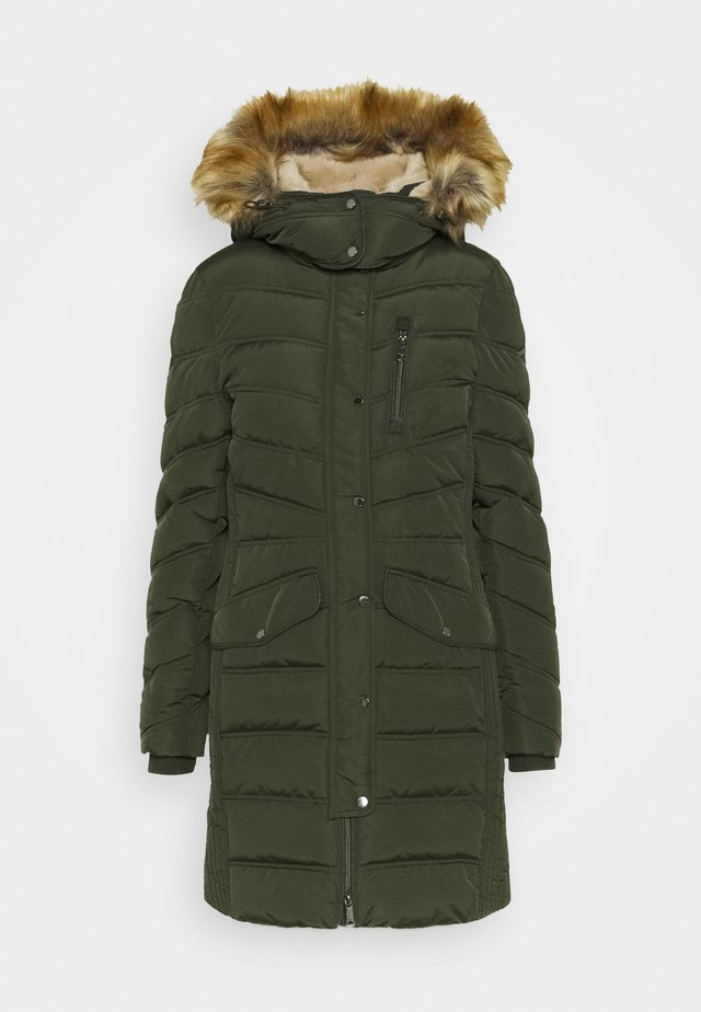 SIGNATURE PUFFER COAT - Winterjas - dark rosin green