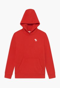 Abercrombie & Fitch - ICON - Jersey con capucha - red - 0