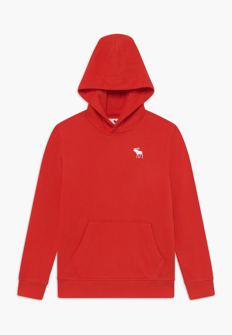 Abercrombie & Fitch - ICON - Jersey con capucha - red