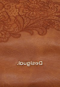 Desigual - MELODY LOVERTY - Tote bag - camel oscuro - 5