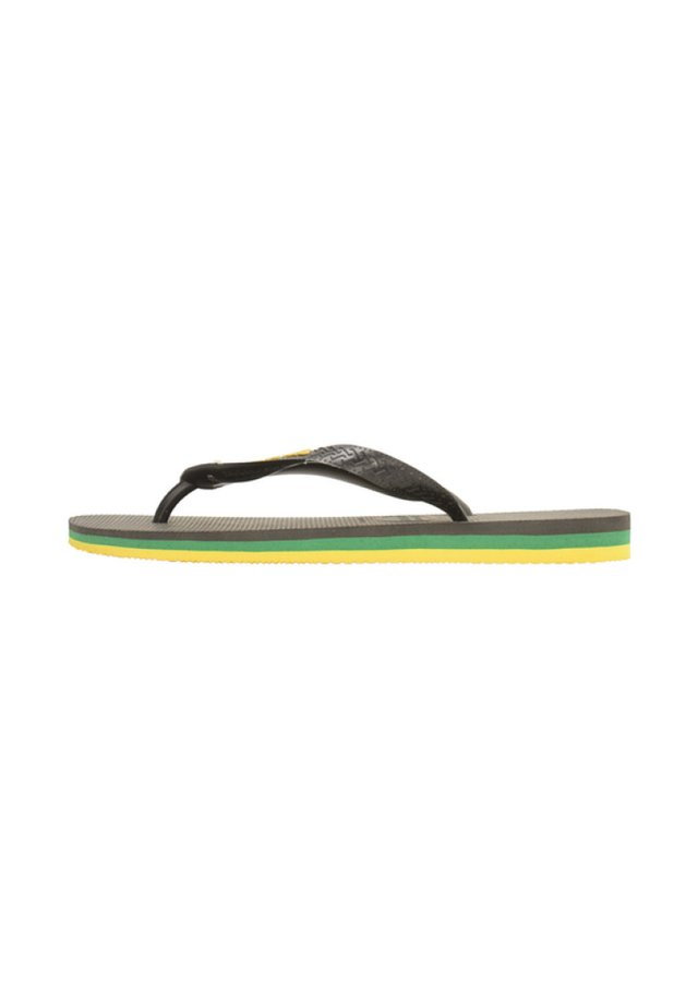 BRASIL LAYERS - Chanclas de dedo - black