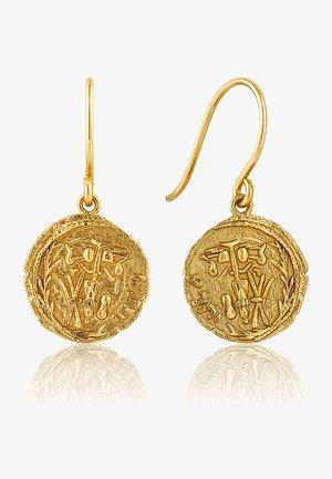 EMBLEM - Earrings - gold
