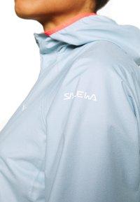 Salewa - PUEZ LIGHT - Hardshell-jakke - blue fog - 4
