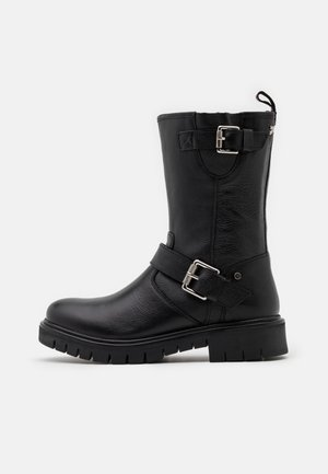 AURICH - Cowboy/Biker boots - black
