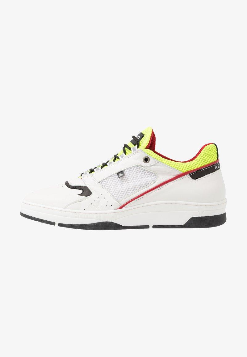 Azzaro - JOGG - Trainers - blanc/noir/jaune