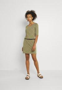 Ragwear - TAMY - Žerzejové šaty - khaki - 1