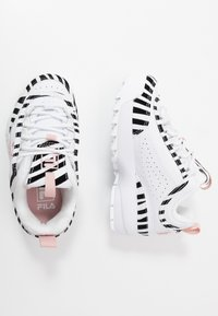 Fila - DISRUPTOR - Sneakers basse - white/sepia rose - 1